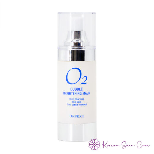 Deoproce O2 Bubble Brightening Mask